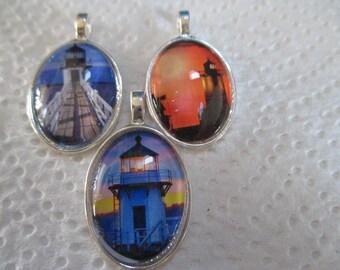 Lighthouse Pendants - one item