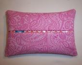 Pink Paisley Purse Tissue Cozy/Holder