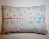 Mint Green Ribbbons and Roses Purse Tissue Cozy/Holder