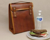 Executive Lunch Bag - Light Brown