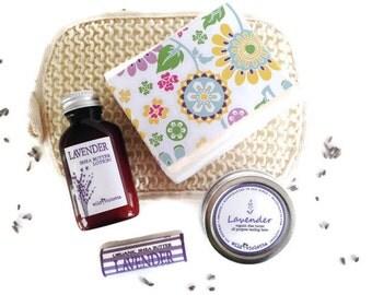 Spa Gift Set for Her / Lavender Gift Set for Her