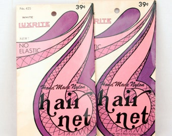 vintage hair nets // luxrite