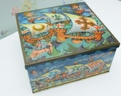 RESERVED FOR JANIS Peek Frean Biscuit Tin