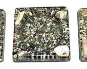 Abalone Coasters. Set of (3)