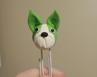 Bright Boston Terrier Bookmark