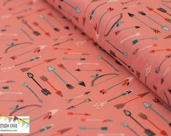 Archery Pink from Birch Organic Fabric's Wildland Collection