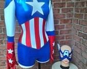 Miss Captain America costume created by LOLITA ALONZO
