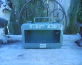 Vintage First Aid Box reserved for Toto3554