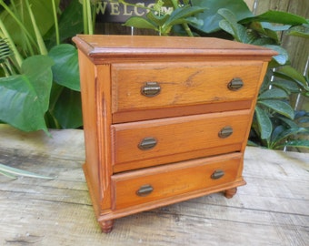 Miniature Wooden Dresser