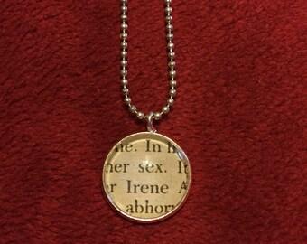 Irene Adler Sherlock Holmes Pendant