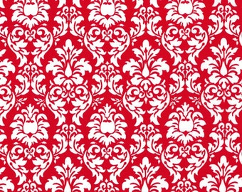 Michael Miller Christmas Fabric by the yard Petite Dandy Damask 1 yard