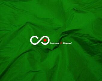 Silk Dupioni Fabric - India green D205 - Section Green - 1 yard 100% Silk Dupion