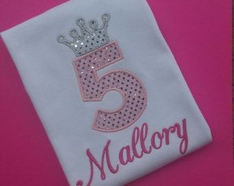 Princess Birthday Shirt