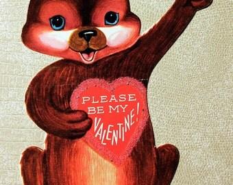 Vintage Bear Valentine