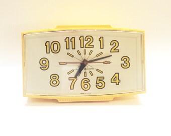 General Electric GE Yellow Wall Clock