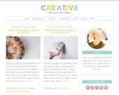 Feminine WordPress Theme | Creative | Self-hosted WordPress Theme