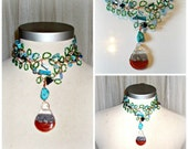 handmade  bead,fairy necklace