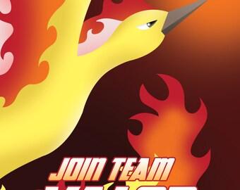 Team Valor Propaganda Poster