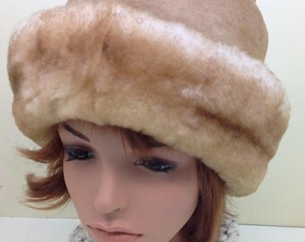 Classic shearling lamb hat