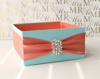 Wedding Program Box Bubble Box - Custom Made to Order