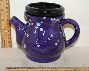 Unique Miniature Teapot Ceramic African Violet Pot
