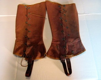 Military Leggings from Spanish American War 1898