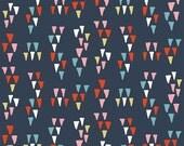 Birch Fabrics Organic  Wildland Poplins -   Arrowhead Dusk