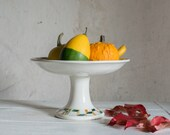 French Cake Stand // 1940 Pedestal Plate or Compotiere