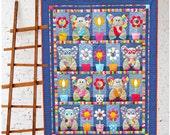 Patchwork Elephants - PDF Quilt Pattern