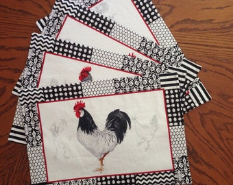 Rooster Placemat Set