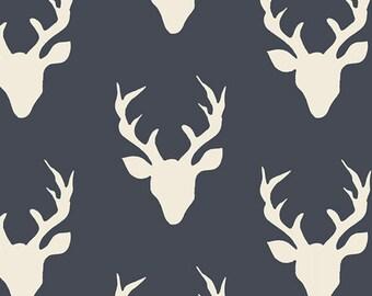 Carseat Tent - Navy Buck Carseat Canopy, Tent, Deer, Antler
