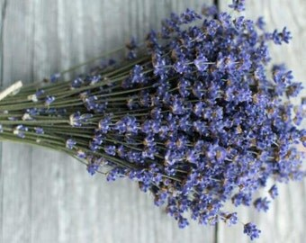 10 Bunches English Dried Lavender