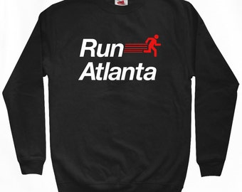 Run Atlanta V2 Sweatshirt - Men S M L XL 2x 3x - Atlanta Shirt - ATL, Running - 4 Colors