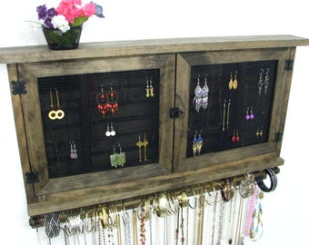 Choose your own colors jewelry display