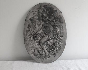 Silver Plated Wall Plaque