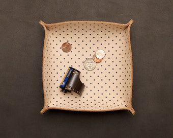 Catchall Tray - Navy Dot