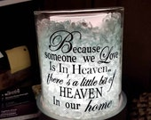Warmer decal / Someone in heaven / Loved one / Because warmer decal