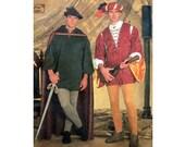Men's Boys Costume Pattern Simplicity 7761