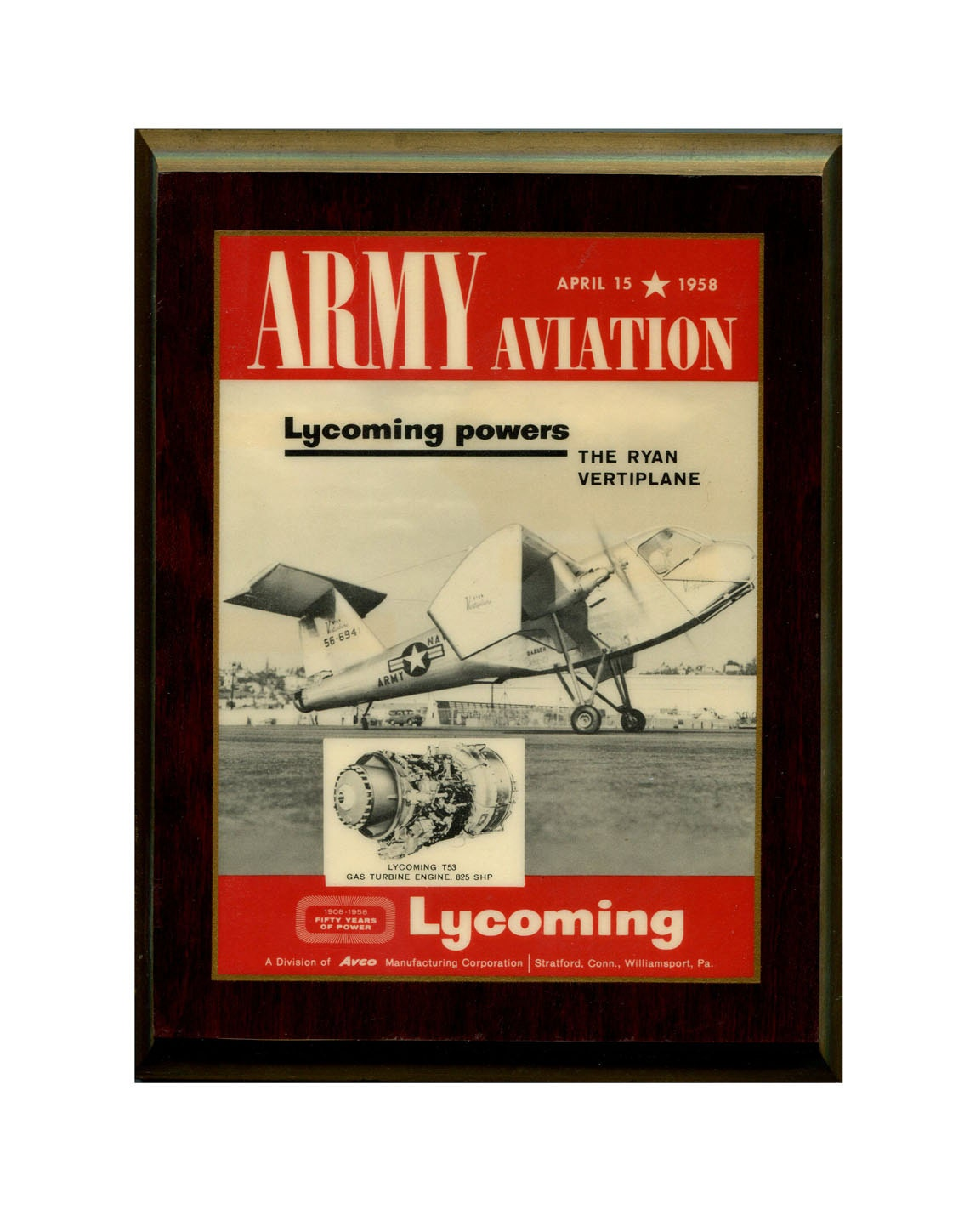 Vintage Aviation Wall Decor : Vintage aviation wall decor art laminated wood plaque ryan