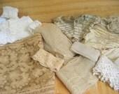 Vintage lace destash. antique lace distash. lace lot. vintage trim destash
