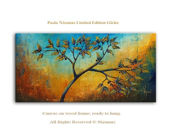 Autumn Returns limited edition Art on canvas Home Interior Decor Wall Art ready to hang