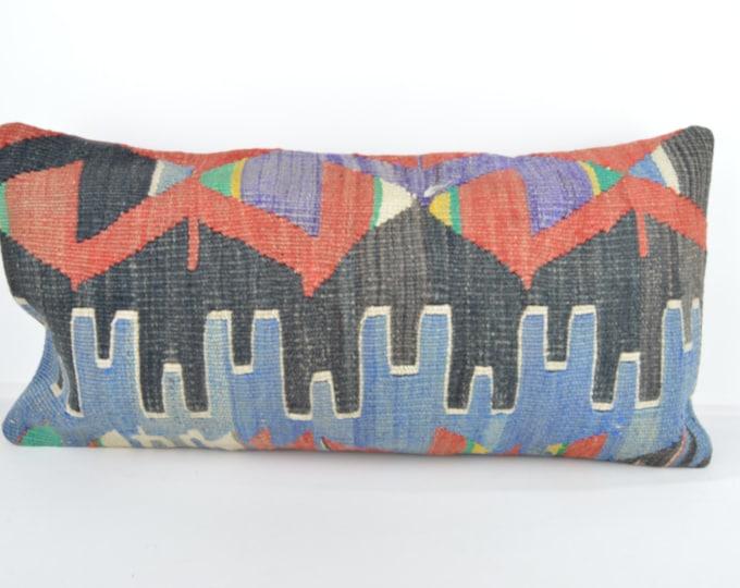 Kilim pillow, Kilim Pillow Cover k603, Turkish Pillow, Kilim Cushions, Bohemian Decor, Moroccan Pillow,  Bohemian Pillow, Turkish Kilim