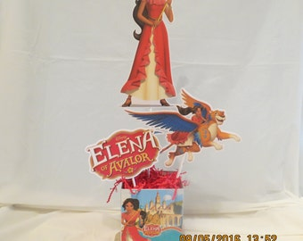 Elena of Avalor centerpiece