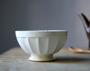 Vintage white bowl from Germany