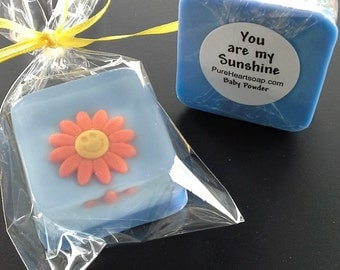 Sun Shine Soap Favors