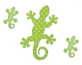 Embroidery design machine applique and silhouette salamander lizard instant download.