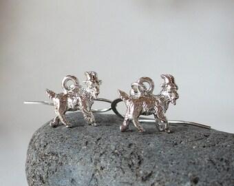 Little Goat Earrings - Billy Goat Earrings