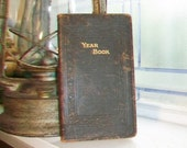 1943 Yearbook Diary Unused with Leather Cover From Ford Motor Company