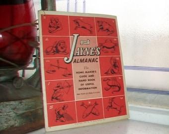 Vintage 1941 Jayne's Almanac