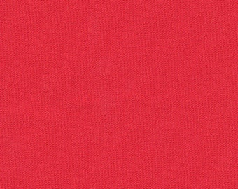 "60"" Wide 100% Polyester Ponte de Roma Double Knit Red by the yard"